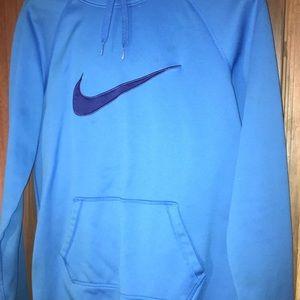 Nike Blue Dri-Fit Hoodie